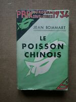 MASQUE JAQUETTE 156 Jean Bommart Le Poisson Chinois / Edition Originale 1934