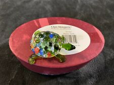 2006 Fitz & Floyd Glass Menagerie Mosaic Turtle free shipping