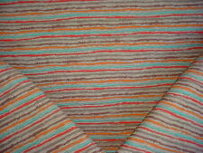 14Y LEE JOFA TURQUOISE SOUTHWEST TEXTURED BLANKET WEAVE UPHOLSTERY FABRIC