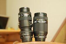Nikon AF 50mm, 35-80mm and 70-210mm FX for Nikon D70,80,90,200,300,7000,600,800
