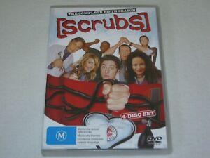 Scrubs - Complete Season 5 - 4 Disc Set - VGC - Region 4 - DVD