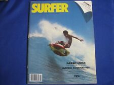Surfer Magazine-Nov 1979-Butch Van Artsdalen-Windsurfing-Syd ney Australi-Vintage