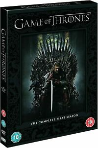 Game of Thrones: Complete 1st Season Dvd (New Packaging) New Factory Sealed