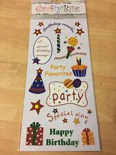 Craft Bitz NDS621 RUB su adesivi, artigianato, card making FREEPOST UK