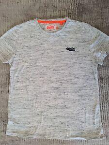 Super Dry Grey Men's T-Shirt, XL Worn Once, Very Soft