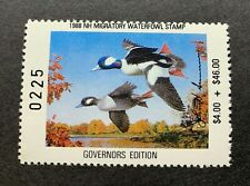 1988 NEW HAMPSHIRE - State Duck Stamp - Mint OG NH **GOVERNOR Ed.** -