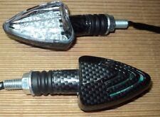 4X CARBON TURN SIGNAL Honda CBR 600 900 1000 RR VTR CRF 250 X EX 250 XR 250 R