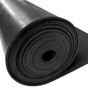 Heavy Duty Commercial Rubber Sheet 3mm thick - 900 mm wide- sold per 1 metre