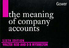 The Meaning of Company Accounts by Reid, Walter, Myddelton, D. R.
