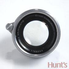 LEICA LEITZ SUMMICRON 5cm (50mm) f2 M39 SCREW MOUNT LENS