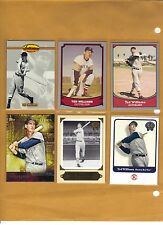 TED WILLIAMS LOT (9), Pacific Legends,1993 UD HOB3 & HOB1 Mickey Mantle, BV$42