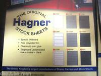 MULTI LISTING FOR HAGNER STAMP STOCK PAGES 1 TO 8 STRIP SINGLE OR DOUBLE SIDED