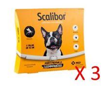 COLLAR SCALIBOR 48 Cm - pulgas, garrapatas, leishmaniosis (Pack 3)