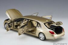 Autoart 2016 MERCEDES BENZ MAYBACH S 600 PULLMAN GOLD Color 1/18 Scale New!