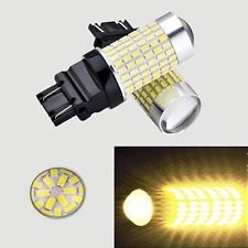 Rear Signal T25 3057 3157 4157 144 SMD Amber LED Light K1 For Ford A