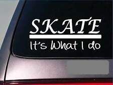 Skate sticker decal *E258* ice skate roller skate derby hockey figure skating