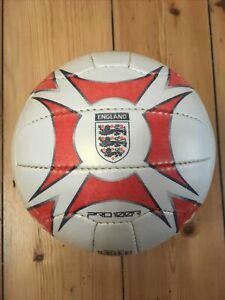 MITRE England National Team Classic Size 5 Retro Football - USED