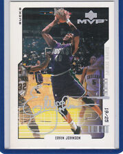 Ervin Johnson 2000 01 UD MVP Super Script 19/25 Milwaukee Bucks
