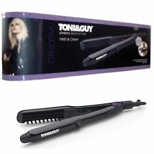 TONI & GUY Twist and Crimp Hair Shine Crimper Styler 220°C, Christmas Gift