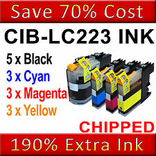 14 Ink Cartridges For Brother LC223 MFC-J5320DW J5620DW J5625DW J5720DW