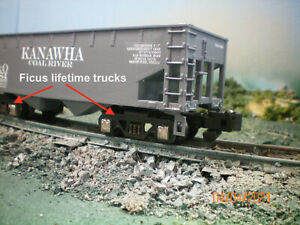 """American Flyer """"Kanawha Coal River"""" 640 hopper car by Ficus Products Tm"""