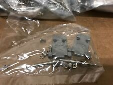 Plastic Hood Thumb Screw D-SUB for Data Cable  DB9 9PIN Hoods Huge Lot