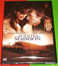 LOS PUENTES DE MADISON / THE BRIDGES OF MADISON COUNTY -DVD R2- Precintada