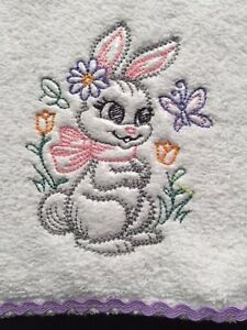 Babies Embroidered Towelling Bibs Collection of *VINTAGE WOODLAND*  sew-ezy-aust