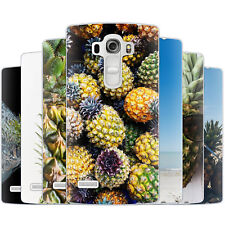 Dessana Pineapple TPU Silicone Protective Cover Phone Case Cover For LG