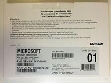 Windows 7 Ultimate SP1 64 Bit System Builder Italian DVD OEM GLC-01852