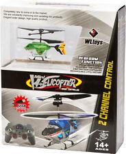 Wltoys 500010 RC 2 canales mini Helicóptero Flugakku cable cargador