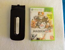 XBOX 360 120 GB hard drive and XBOX 360 Madden 12 Game
