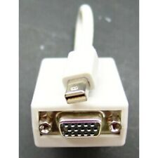 Mini DisplayPort plug (male) to VGA video socket (female) adapter lead / cable