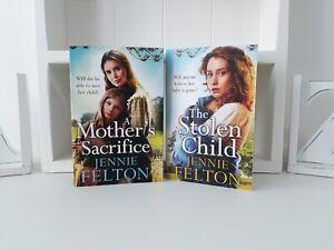 Collection of 2 x Paperback Saga Books - Jennie Felton - The Stolen Child - NEW
