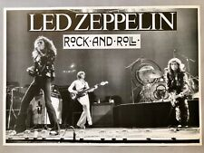 Led Zeppelin Rock And Roll Poster 23 x 33
