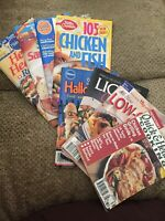 Lot of 8 Mini Cookbooks Recipe Booklets: Prevention's Betty Crocker Pillsbury