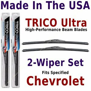 Buy American: TRICO Ultra 2-Wiper Blade Set: fits listed Chevrolet---13-16-16