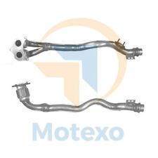 Front Pipe TOYOTA COROLLA 1.6i 16v Manual (4AFE) 4/97-10/99 (twin f/pipe)