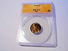 1919 Lincoln Cent PCGS MS64 RB