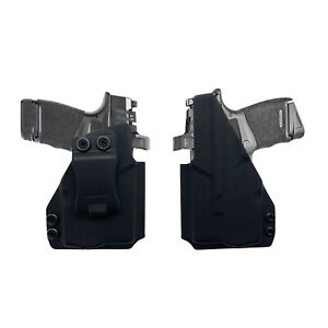 Fits SA Hellcat RDP/OSP With TLR6 Light RMR Cut IWB Concealment Holster