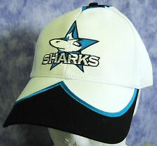 NRL CRONULLA SHARKS CAP Retro -White Adjustable Official w/tags -NEW!