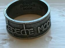 Rare Depeche Mode 2001 Exciter Tour Ring Dm Dave Gahan Size W (11.5) Martin Gore