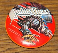 JUDAS PRIEST SCREAMING 1982 TOUR BADGE FROM THE COLLECTION OF DAVE HOLLAND