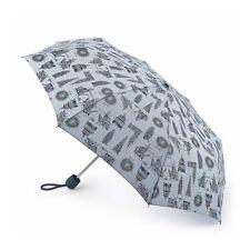 Fulton Umbrella: Blue - Stowaway 24 London Landmarks