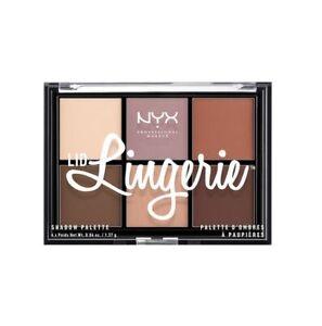 NYX Lid Lingerie Eye Shadow Palette 6 Shades #LLSP01 FREE SHIPPING