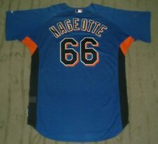 NEW YORK METS CLINT NAGEOTTE GAME USED WORN 2007 HOME JERSEY STEINER (MARINERS)