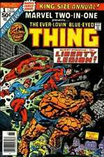 MARVEL TWO-IN-ONE #1 EVER-LOVIN BLUE-EYED THING FINE ANNUAL (1976) #bin16-1127
