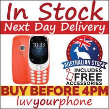 Nokia 3310 TA-1036 3G Red Single SIM Locked to Vodafone AU Stock