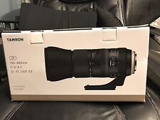New US Model Tamron SP A022 150-600mm F/5-6.3 Di VC USD Lens For Canon G2