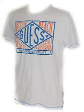 T-shirt maglietta girocollo uomo GUESS a. F62I10 taglia XXL c. A009 BIANCO WHITE